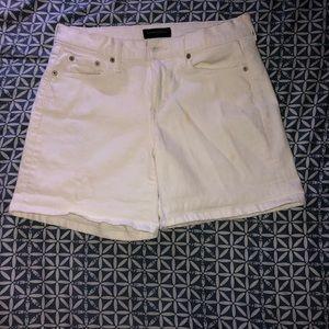 Banana Republic white shorts